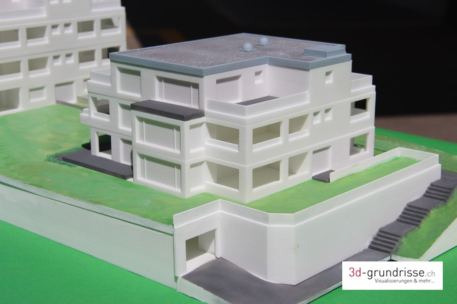 3d druck architekturmodell 3d. Black Bedroom Furniture Sets. Home Design Ideas